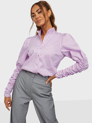 co'couture Sandy Poplin Puff Shirt
