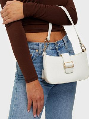 Glamorous vit väska Shoulder Bag With Buckle Detail