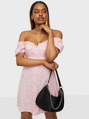 NLY Trend Flirty Button Dress