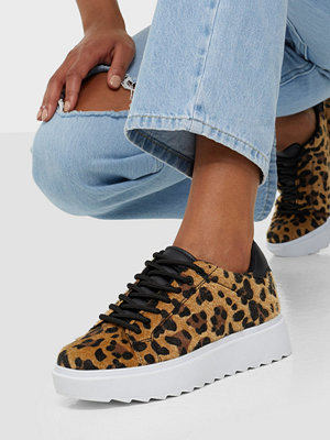 NLY Shoes Care Less Furry Sneaker