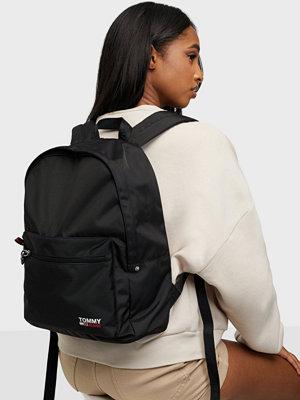 Tommy Jeans svart väska Tjw Campus Backpack