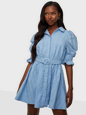 Bardot Mini Broderie Dress