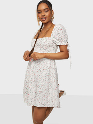 Bardot Ditsy Shirred Dress