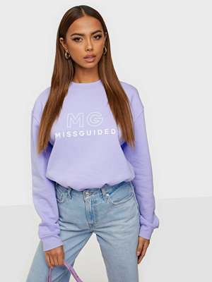 Missguided Large Branded Oversized Top