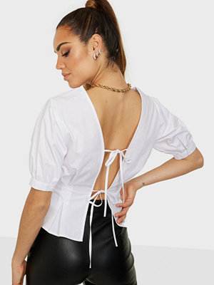 NLY Trend Tie Back Blouse