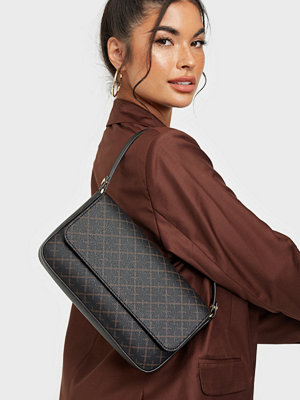 By Malene Birger svart mönstrad väska TALLIE