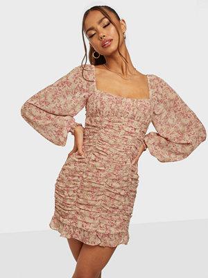 Love Triangle Lady Danbury Ruched Dress