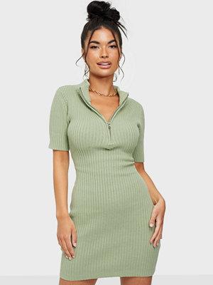 Glamorous Mini Zip Dress