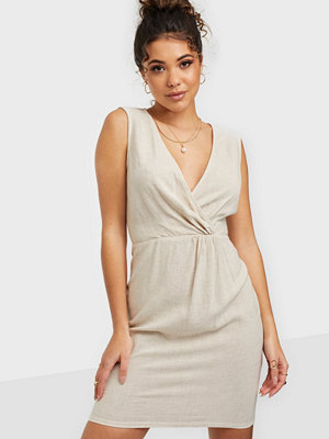 NLY Trend Twisted Linen Dress