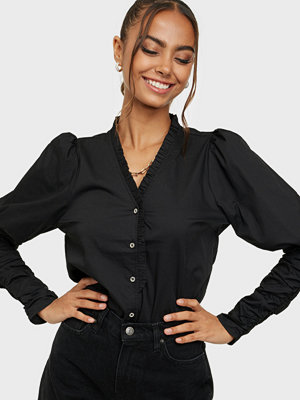 co'couture Sandy V-Frill Shirt