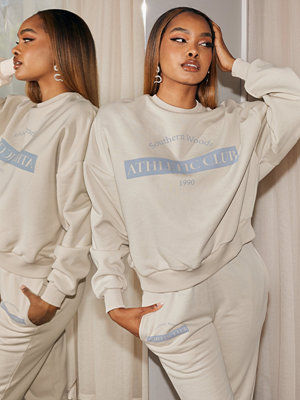 NLY Trend Print Chunky Sweat