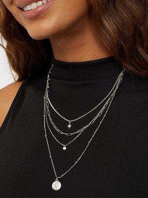 Pieces smycke PCJUGGIA COMBI NECKLACE D2D