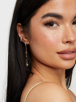NLY Accessories smycke Under the Moonlight Earrings