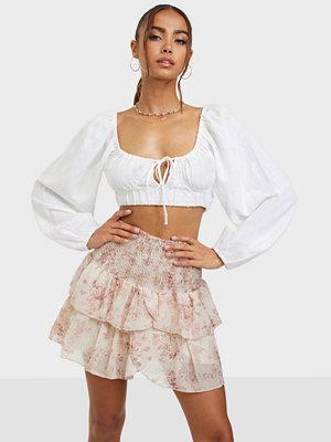 Neo Noir Carin Square Flower Skirt