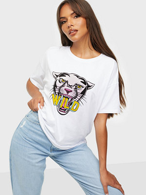Pieces PCPANTHER SS TEE D2D BC