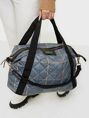 Day Et grå rutig väska Day Gweneth RE-Q Checky Cross