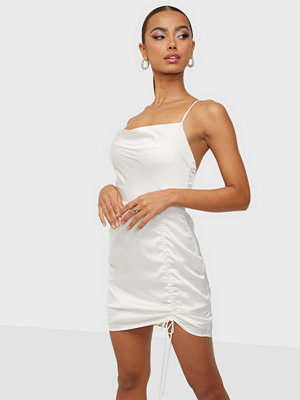 NLY Trend Ruched Satin Dress