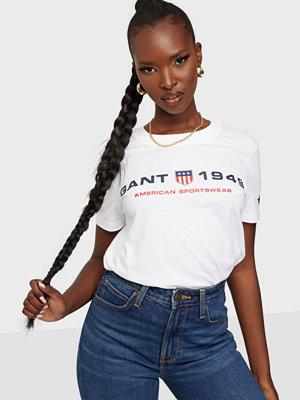 Gant D2.Gant Retro Shield Ss T-Shirt
