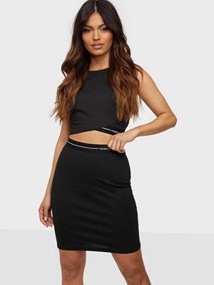 Calvin Klein Jeans Milano Logo Elastic Skirt