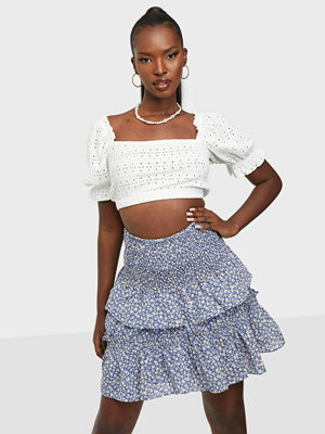 co'couture Breeze Flower Smock Skirt