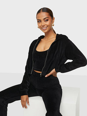 NLY Trend Flirty Velour Hoodie