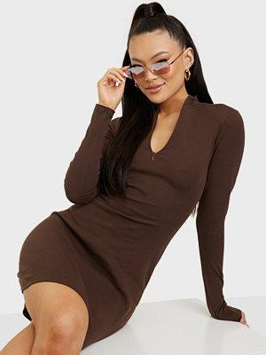NLY Trend Sporty Zip Dress