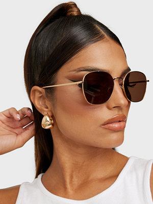 Solglasögon - Corlin Eyewear Hanna & Lojsan Umbrella Gold