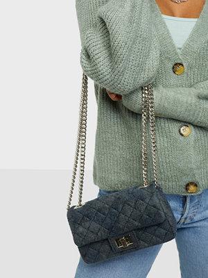 Rough Studios grå väska Mini Velvet Bandita