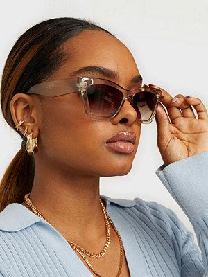 Solglasögon - NLY Accessories Smokey Cateye
