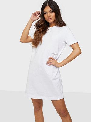 Calvin Klein Jeans Offplaced Monogram T-Shirt Dress
