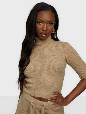 Noisy May NMSUSIE L/S HIGH NECK CROP KNIT