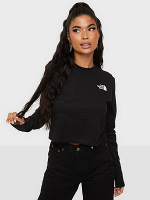 Toppar - The North Face W LS CROP TEE
