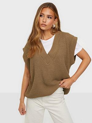 Missguided V Neck Sleeveless Knit Tank