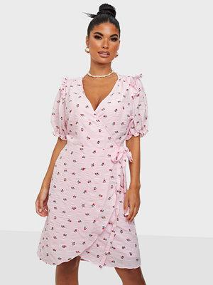 Neo Noir Carla Wrap Dress