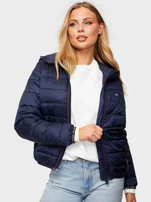 Tommy Jeans TJW Quilted Tape Hooded Jacket