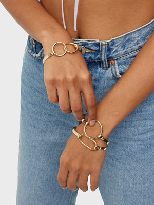 Pieces smycke PCFOLA 3-PACK BRACELETS