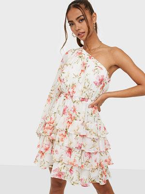 Forever New Priya Ruffle One Shoulder Mini Dress