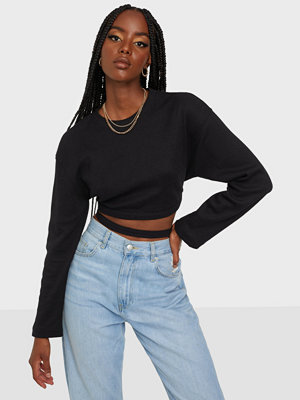 Missguided Buckle Strap Detail Long Sleeve Top