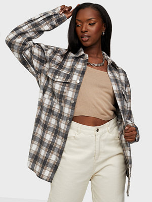NLY Trend Long Check Shirt