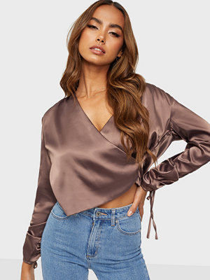 NLY Trend Ruche Drapy Blouse