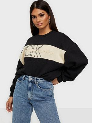 Calvin Klein Jeans Monogram Blocking Sweatshirt
