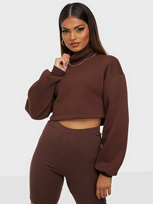 NLY Trend Cropped Turtleneck Sweat