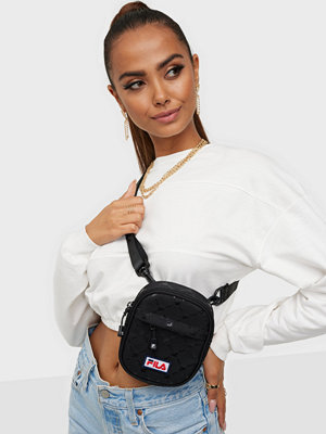 Fila svart väska PUSHER BAG BERLIN AOP