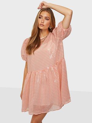 Glamorous Check Sequin Dress