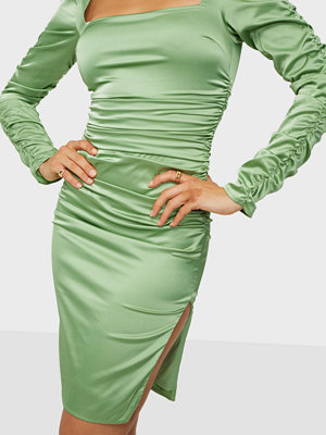 NLY Trend Satin Bodycon Dress