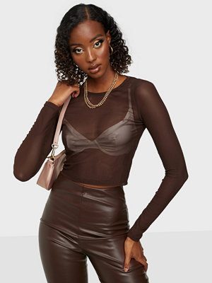 NLY Trend Impress Me Mesh Top