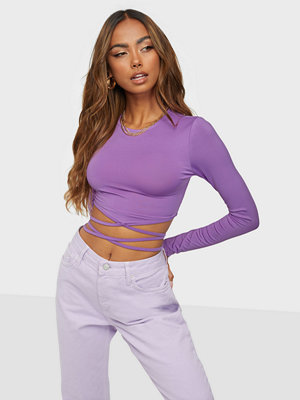NLY Trend Tie Waist Top