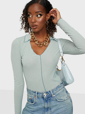 NLY Trend Light Collar Top
