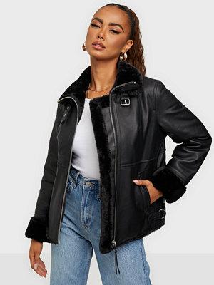 Jofama Alice Leather Bomber Jacket