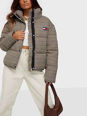 Tommy Jeans TJW MINI CHECK PUFFER